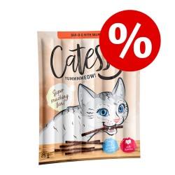 50 stk Catessy Sticks med kanin, kalkun & gær Kattesnacks