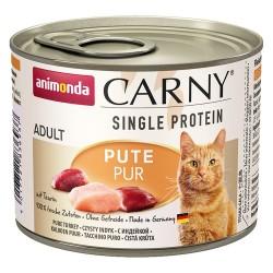 6 x 200 g Animonda Carny Single Protein Adult mit Huhn pur Katze Nassfutter