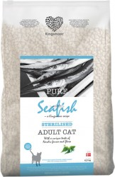 6,5 kg Kingsmoor Pure Cat Seafish sterilised - PURE HAVFISK KINGSMOOR KATTEMAD TIL NEUTRALISERET KAT