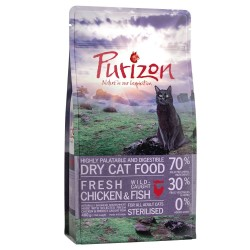 6,5 kg Purizon Adult Sterilized Kylling & Fisk Kattemad