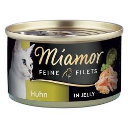 6x100 g Tun & grøntsager Miamor Fine Fileter i gelé Kattemad