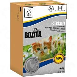 6x190 g Bozita Feline Kitten Kattemad