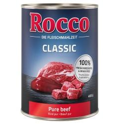 6x400 g Okse med rensdyr Rocco Classic - Kornfrit Hundefoder