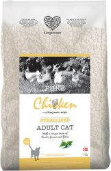 7 kg Kingsmoor Pure Cat Chicken sterilised - PURE KYLLING KINGSMOOR KATTEMAD TIL NEUTRALISERET KAT