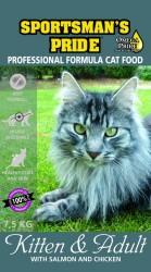 7,5 kg Sportsmans Pride Professional Cat Food - kattemad