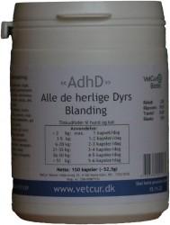AdhD, 150 kapsler til hund og kat