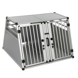 AluRide dobbelt hundebur til bilen - Sikkerhedssele 250 cm (2 stk)