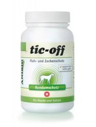 Anibio Tic-off 140 g - kan tilsættes foderet