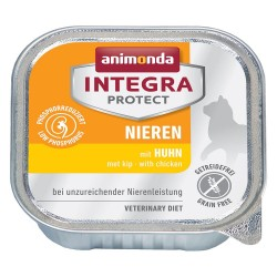 Animonda Integra Protect Adult Nyre 6 x 100 g i bakke - Gris