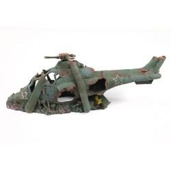 Aquatlantis akvariedekoration Helikopter - 1 stk.