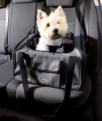 Biltaske til små hunde