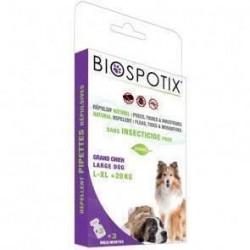 Biospotix loppe+flåt spot-on pipetter til hunde over 20 kg