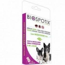 Biospotix loppe+flåt spot-on pipetter til hunde under 20 kg
