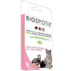 Biospotix loppe+flåt spot-on pipetter til katte