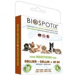 Biospotix loppehalsbånd til hund, Small