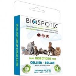 Biospotix loppehalsbånd til katte mod lopper, lus, flåter, tæger og myg