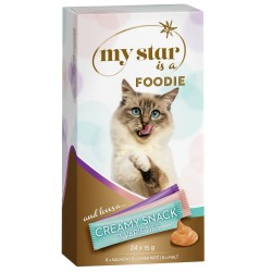 Blandet pakke: My Star is a Foodie - Creamy Snack - 24 x 15 g