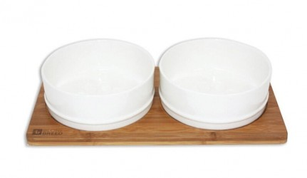 Bob Bambus / keramik skål, str. M