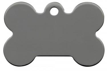 Bone Smokey Black, eksklusivt hundetegn Kødben 39 mm