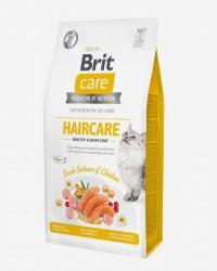Brit Kat - Haircare - Laks og Kylling - Kornfrit, 7 kg