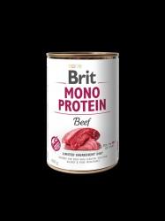 BRIT Mono Protein, Oksekød, 6 x 400g