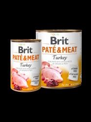 BRIT Paté og Meat, Kalkun, 6 x 400g