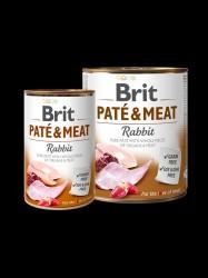 BRIT Paté og Meat, Kanin, 6 x 400g