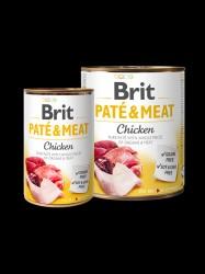 BRIT Paté og Meat, kylling, 6 x 400g