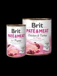 BRIT Paté og Meat, Puppy, 6 x 400g