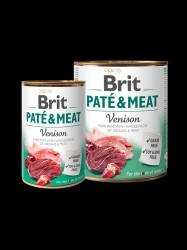 BRIT Paté og Meat, Vildt, 6 x 400g