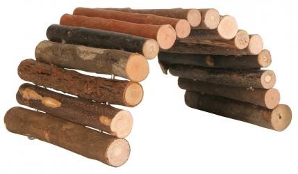 Bro i piletræ - til gnavere - 17 x 28 cm / Marsvin og chinchilla