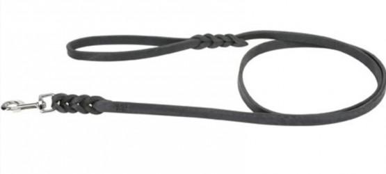 Buffalo-læder line med håndtag 1,8 m - med lækker flet detalje