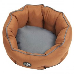 BUSTER Cocoon seng, Leather Brown/Steel Grey, large