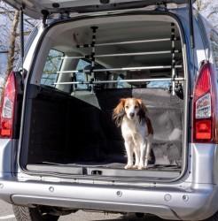 Car Dog Grid - Hundegitter til høje biler, til montering på nakkestøtter