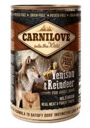 Carnilove Canned Venison & Reindeer - dåse 400 g