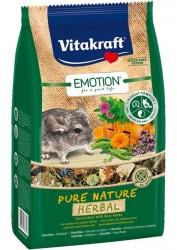 Chinchillafoder, korn- & sukkerfri, Emotion® Pure Nature Herbal