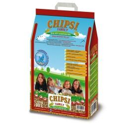 Chipsi Family majs-pellets - 20 liter