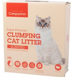 Companion Extra Strong Scented m/babypudder duft, ekstra klumpende - 10 L