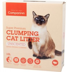 Companion Extra strong Unscented - Ekstra klumpende, 10 L