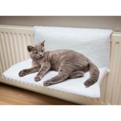 Coop radiatorhylde til katte - Futte - Hvid