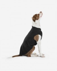 CozyCoat Fleece til hunde - Sort, 10