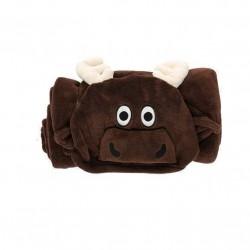 Critter tæppe/kåbe til børn, med elg