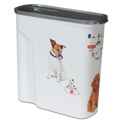 Curver tørfoderbeholder Hund - Op til 2,5 kg tørfoder