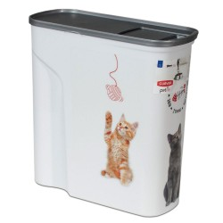 Curver tørfoderbeholder Kat - Op til 2,5 kg tørfoder