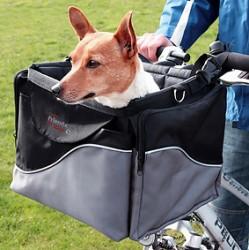 Cykeltaske de luxe til hund