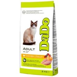 Dado kattefoder - Adult - Kylling