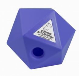 Decahedrons treat cube, aktiveringslegetøj til heste, fv. blå
