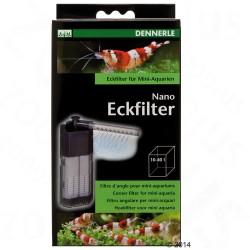 Dennerle Nano hjørnefilter - Til 10-40 l