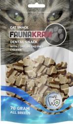 Dental Cat Snacks, 70 g - kylling med kompleks enzymer