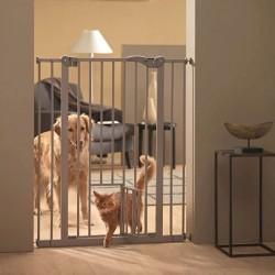 Dog Barrier hundegitter med kattelem indbygget